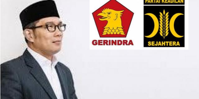 Polemik Ridwan Kamil, PKS dan Gerindra